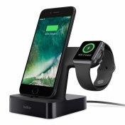 Зарядная станция Belkin PowerHouse для iPhone и Apple Watch, Black (F8J237vfBLK)