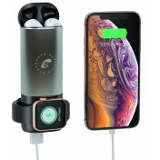 Внешний аккумулятор Moonboots Property Power Bank 3 in 1 Compatible Airpods, Apple Watch, iPhone